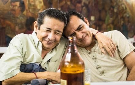 Rogelio Urrusti y Jeremías Marquines. ©2013 Francisco Cubas