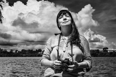 Patricia Aridjis en Nuevo Torno Largo, Tabasco. ©2013 Francisco Cubas
