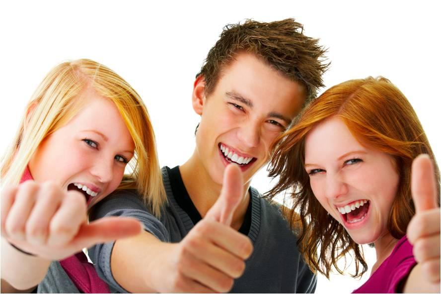 Gente bonita y feliz, el ideal publicitario que domina al planeta.